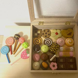 木製 おままごと クッキー チョコ キャンディ