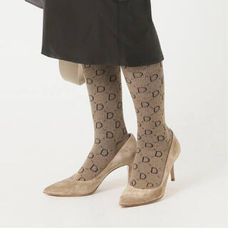 DEUXIEME CLASSE - Deuxieme Classe jacquard socks  ベージュ