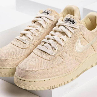 STUSSY - 27 STUSSY NIKE AIR FORCE 1 LOW FOSSIL
