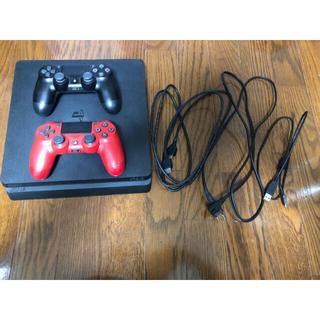PlayStation4 - PS4 本体 (1TB CUH-2100B) コントローラ2個