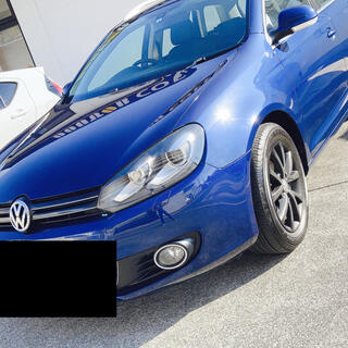 Volkswagen - 【低走行】3.9万キロ ゴルフ ヴァリアント 女性オーナー 禁煙車