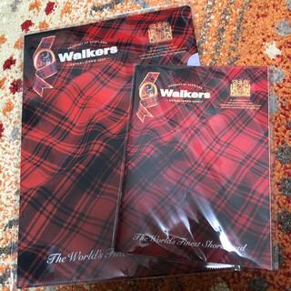 ウォーカーズクッキー ノートandクリアファイルセット(ノベルティグッズ)