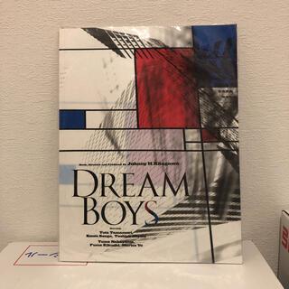 キスマイフットツー(Kis-My-Ft2)の「DREAM BOYS」パンフレット(アイドルグッズ)
