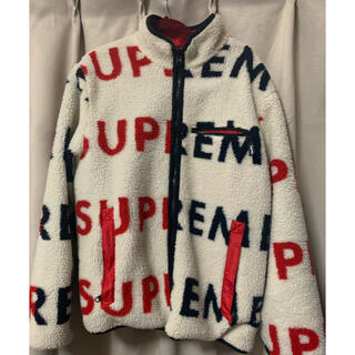 シュプリーム(Supreme)のsupreme reversible fleece jacket(その他)
