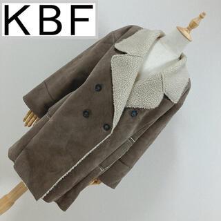 KBF - KBF エコムートン チェスターコート