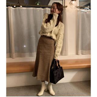 Lochie - 【予約販売】チェック柄マーメイドタイトスカート miro amurette同型