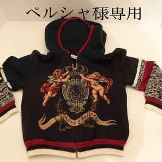ドルチェアンドガッバーナ(DOLCE&GABBANA)の★ペルシャ様専用★Dolce&Gabbana  kids ニットパーカー(Tシャツ/カットソー)