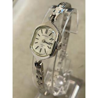 セイコー(SEIKO)のレディース SEIKOSOLAR ネジ巻き式 ビンテージ(腕時計)