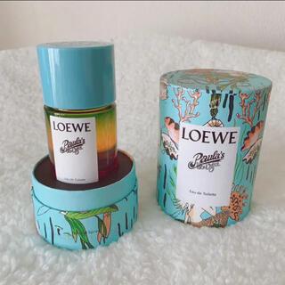 LOEWE - 1/21限定価格!新品! LOEWE  イビザ 香水 オードゥトワレ 限定品