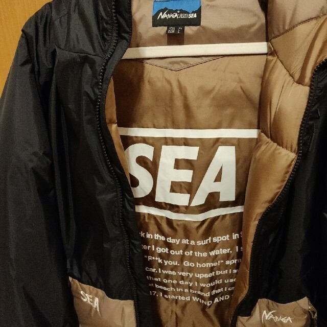 NANGA(ナンガ)のnanga wds ダウンジャケット XL ウィンダンシー メンズのジャケット/アウター(ダウンジャケット)の商品写真