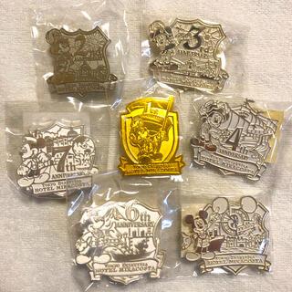 Disney - 【レア・非売品】7個セット🤩 東京ディズニーシーホテルミラコスタ ピンバッジ