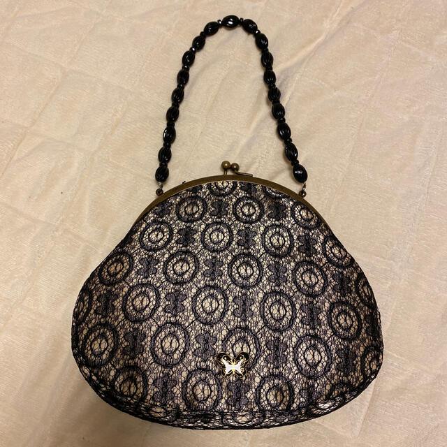 ANNA SUI(アナスイ)の【美品】ANNA SUIハンドバッグ がま口 レディースのバッグ(ハンドバッグ)の商品写真