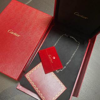 カルティエ(Cartier)のカルティエ Cartier スパルカタス ネックレス K18WG 750 (ネックレス)