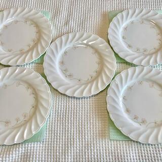 ノリタケ(Noritake)の✳︎ノリタケ FLO's collection ケーキ皿✳︎5枚セット(食器)