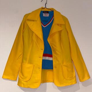 サンタモニカ(Santa Monica)の70s〜80s tailored jacket yellow(テーラードジャケット)