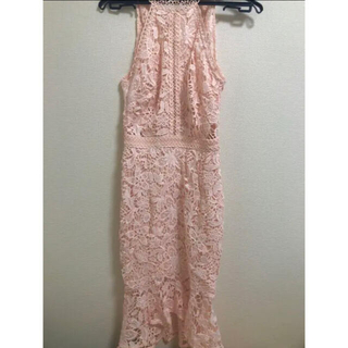 リプシー(Lipsy)のリプシー レースドレス(ミディアムドレス)
