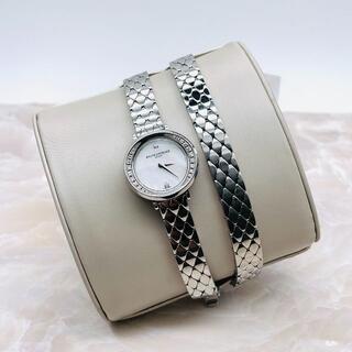ボームエメルシエ(BAUME&MERCIER)の★BAUME&MERCIER★ プティ プロミス ラウンド ダイヤ 腕時計(腕時計)