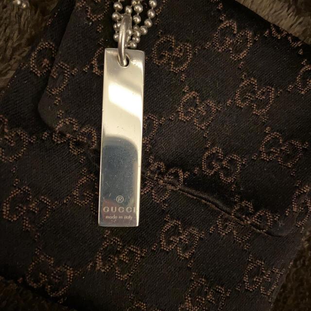 Gucci(グッチ)のGUCCI プレート型ネックレス レディースのアクセサリー(ネックレス)の商品写真