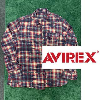 AVIREX - アヴィレックス チェックシャツ 迷彩