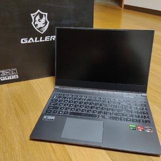 GALLERIA GR1650TGF-T 16GB Ryzen5 4600H