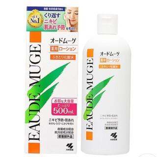 コバヤシセイヤク(小林製薬)のオードムーゲ 薬用ローション ふき取り化粧水 500ml(化粧水/ローション)