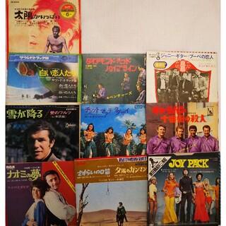 洋楽 EP レコード 10枚 セット まとめ売り 映画 主題曲 サウンドトラック