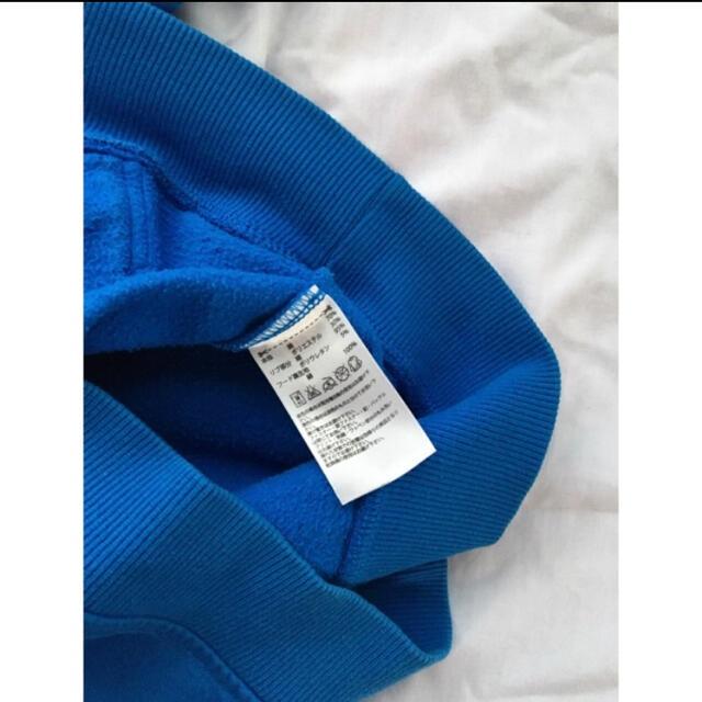 adidas(アディダス)のadidas originals パーカー 青 海外 ライト ブルー メンズのトップス(パーカー)の商品写真