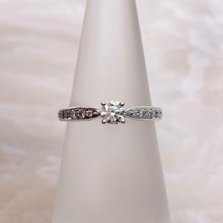 ティファニー(Tiffany & Co.)の★Tiffany&Co.★ ハーモニー ハーフサークル 婚約指輪 D0.18ct(リング(指輪))