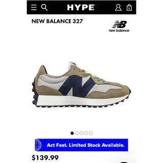 ニューバランス(New Balance)の新品未使用 NEW BALANCE 327 27cm(スニーカー)