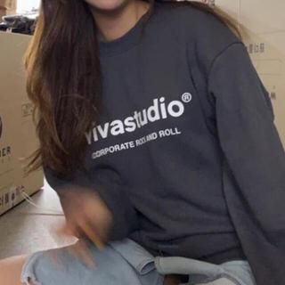 vivastudio ビバスタジオ スウェット トレーナー インディゴ 韓国
