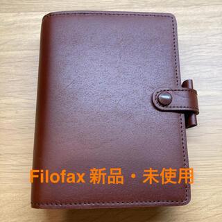 ファイロファックス(Filofax)の【新品・未使用】Filofax 手帳 ポケット A7 6穴 ブラウン(手帳)