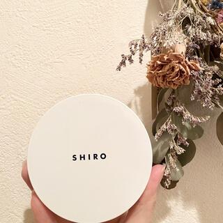 shiro - SHIRO  タピオカフェイスパウダー 8H00 クリア