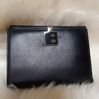バリー(Bally)の空ちゃん様✨BALLY バリー 二つ折り 本革財布 高級 黒 ブラック(財布)