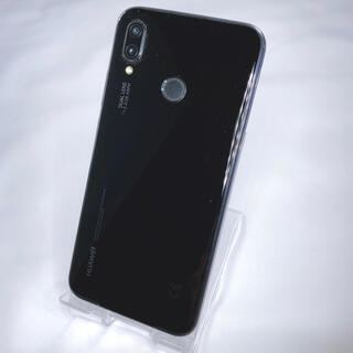 ファーウェイ(HUAWEI)のHUAWEI P20 lite SIMフリー スマホ  ブラック(スマートフォン本体)