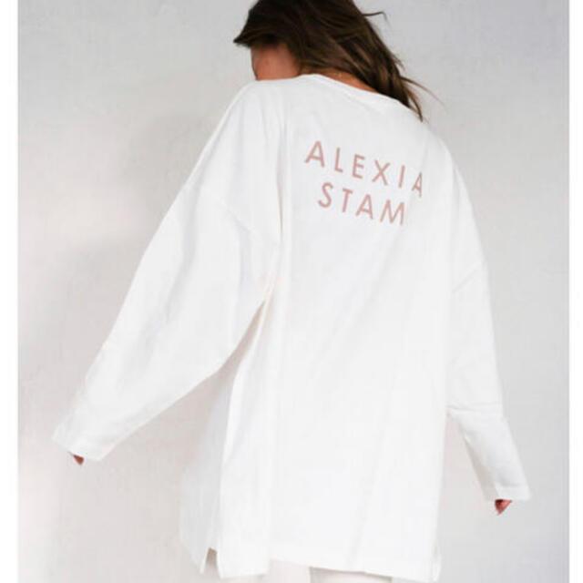 ALEXIA STAM(アリシアスタン)の最終値段 アリシアスタン ロンT レディースのトップス(Tシャツ(長袖/七分))の商品写真