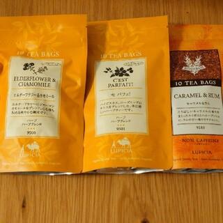 LUPICIA - ルピシア デカフェ  ノンカフェイン 3種類 ハーブティー ルイボスティー 紅茶