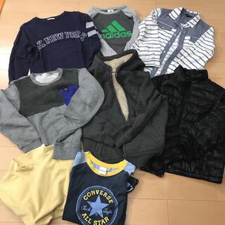 adidas - 男の子まとめ売り 140 ブランシェス アディダス  ユニクロ コムサ他ブランド