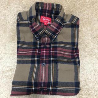 Supreme - Tartan flannel shirt チェックシャツ フランネルシャツ
