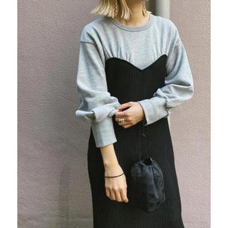 Ameri VINTAGE - Ameri vintage  sweat knit dress