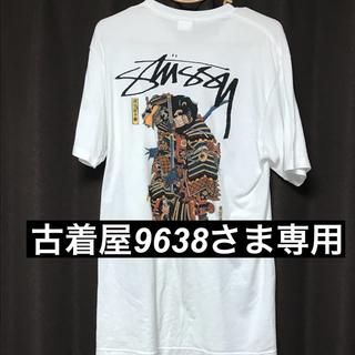 STUSSY - stussy サムライ tシャツ