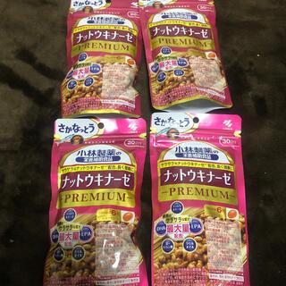 コバヤシセイヤク(小林製薬)の小林製薬 ナットウキナーゼPREMIUM プレミアム 30日分×4(ダイエット食品)