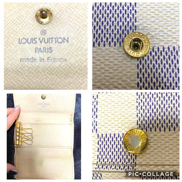 LOUIS VUITTON(ルイヴィトン)のLOUIS VUITTON キーケース ダミエ レディースのファッション小物(キーケース)の商品写真