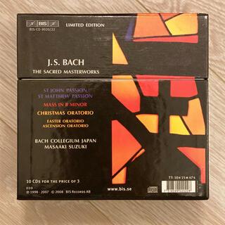 6大宗教曲ボックス 鈴木雅明&バッハ・コレギウム・ジャパン(10CD)BCJ(クラシック)