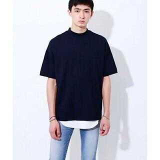 ステュディオス(STUDIOUS)のオーバーサイズモックネックT(Tシャツ/カットソー(半袖/袖なし))