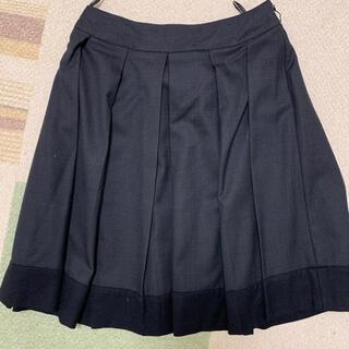 クミキョク(kumikyoku(組曲))の【送料無料】組曲 プリーツスカート サイズ2(ひざ丈スカート)