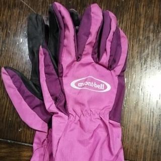 モンベル(mont bell)のモンベル キッズ手袋サイズ10−12(登山用品)