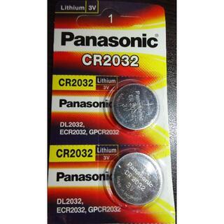 Panasonic - Panasonic製 リチウム電池 CR2032 2個セット