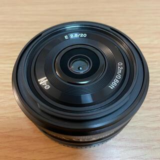 ソニー(SONY)のSONY SEL20F28 ソニーEマウントレンズ 20mm F2.8(レンズ(単焦点))