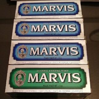 マービス(MARVIS)のマービス 歯みがき粉 25mlx4本(歯磨き粉)