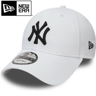 ニューエラー(NEW ERA)のニューエラ キャップ NY ヤンキース 白 ホワイト(キャップ)